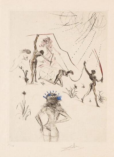 Salvador Dalí, 'Negresses (Venus in Furs)', 1969
