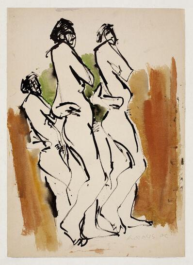 Hoo Mojong, '人物之二十二Figure 22', 1969