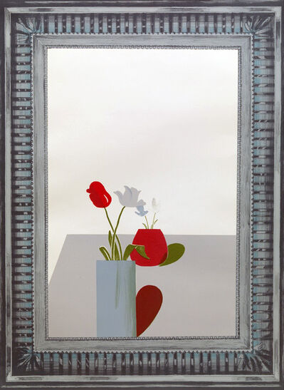 David Hockney, 'Picture of a Still Life Which has an Elaborate Silver Frame', 1965
