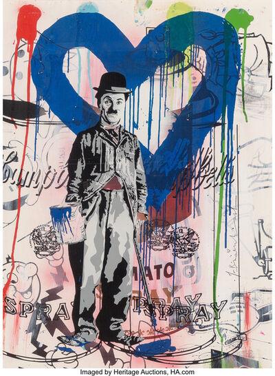 Mr. Brainwash, 'Charlie Chaplin Blue'