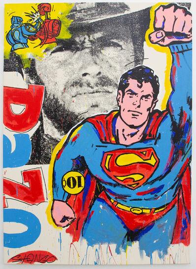 John Stango, 'Superman Clint Eastwood', ca. 2018