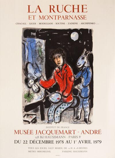 Marc Chagall, 'La Ruche et Montparnasse Musee Jacquemart 1978', 1978