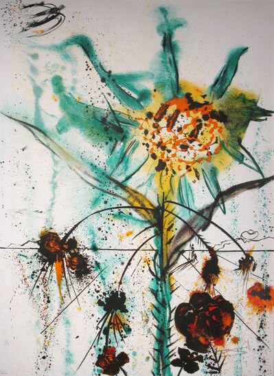 Salvador Dalí, 'Sun Goddess Flower ', 1972