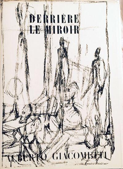 Alberto Giacometti, 'Derriere Le Miroir- Alberto Giacometti By Alberto Giacometti', 1960