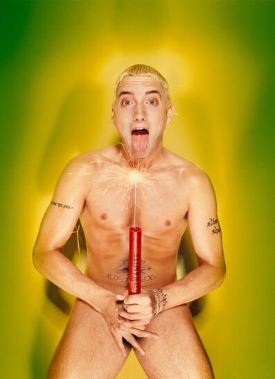 David LaChapelle, 'Eminem: About to Blow', 1999