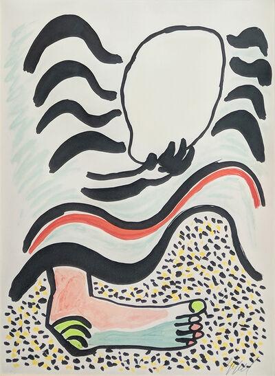 Karel Appel, 'UNTITLED (FROM TANTRIKA 1)', 1983