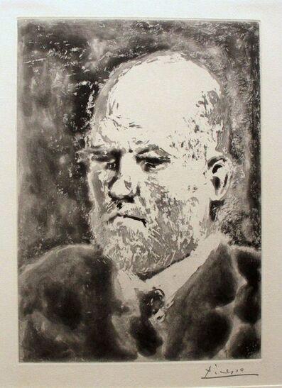 """Pablo Picasso, 'Portrait de Vollard III - From """"La Suite Vollard""""', 1937"""