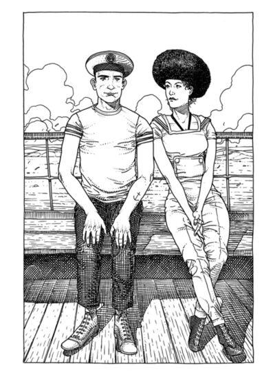 Jared Muralt, 'Matrose & Lady', 2014