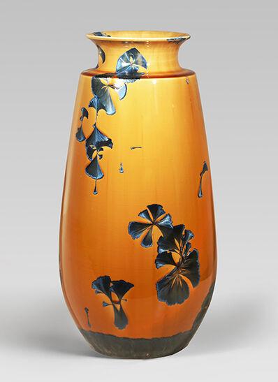 Hongwei Li, 'Gourd vase, splash peacock blue glaze', 2016