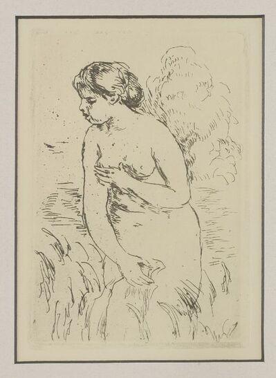 Pierre-Auguste Renoir, 'Baigneuse Debout (Delteil 23)', 1910