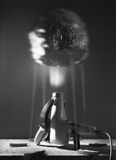 Caleb Charland, 'Demonstration with Hair Dryer and Aluminum Foil'