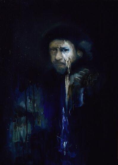 Luis Gomez, 'Rembrandt series-Self Portrait', 2018