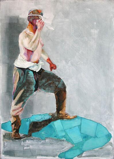 Piet van den Boog, 'Killing the Blue Beast', 2015