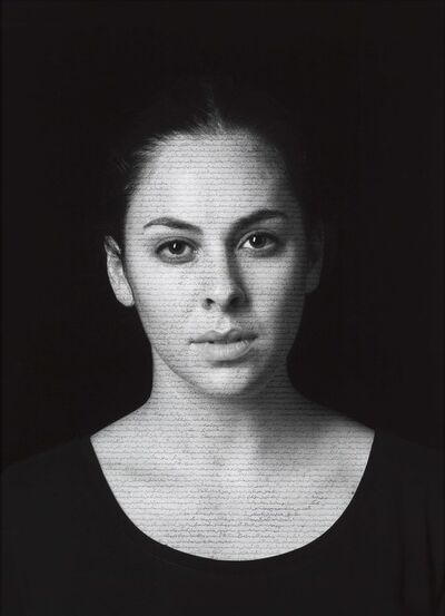 Shirin Neshat, 'Leah (Masses) from The Book of Kings series', 2012