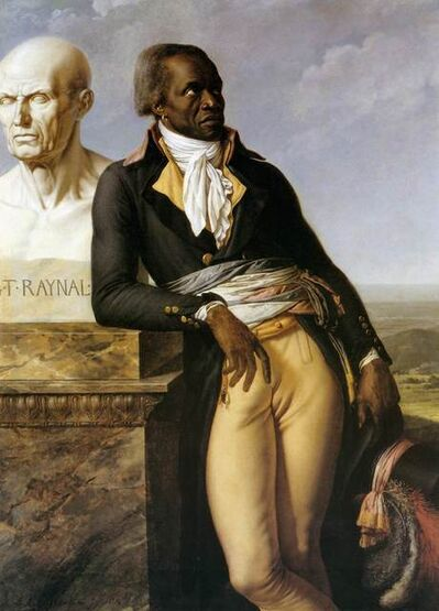 Anne-Louis Girodet-Trioson, 'Portrait of Jean-Baptiste Belley', 1797