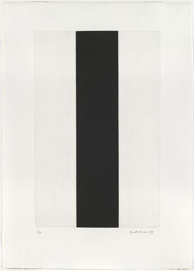Barnett Newman, 'Untitled Etching #2', 1969