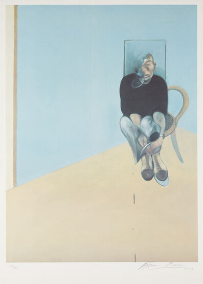 Francis Bacon, 'Study for Self-Portrait', 1982
