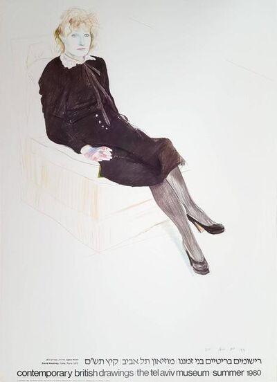 David Hockney, 'Celia, Paris, Black Stockings', 1980