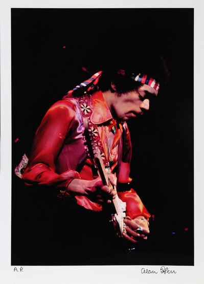 Alan Herr, ' Jimi Hendrix, The Fillmore East First Show 12/31/69', ca. 2000