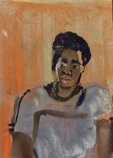 Ted Diamond, 'Untitled (African-American Woman) '
