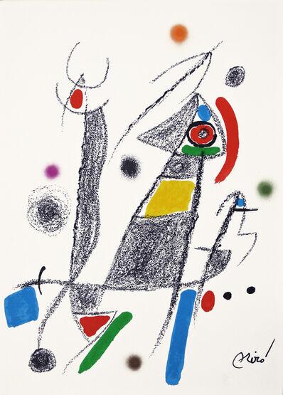 Joan Miró, 'Maravilla 6', 1975