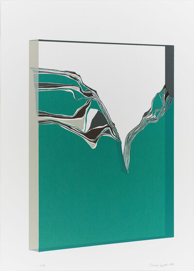 Adrian Espinos, 'Ink stone in glass', 2013