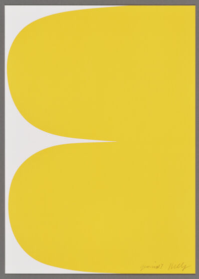 Ellsworth Kelly, 'Yellow Curves', 2013