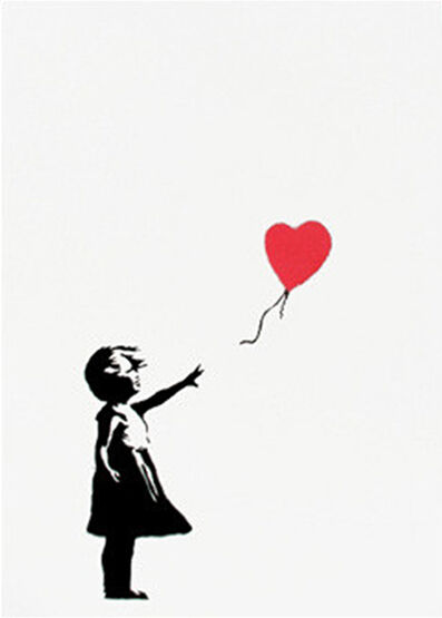 Banksy, 'Girl with Balloon ', 2004