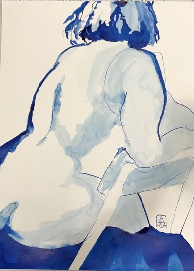 Adria Becker, 'Almost Blue', 2019