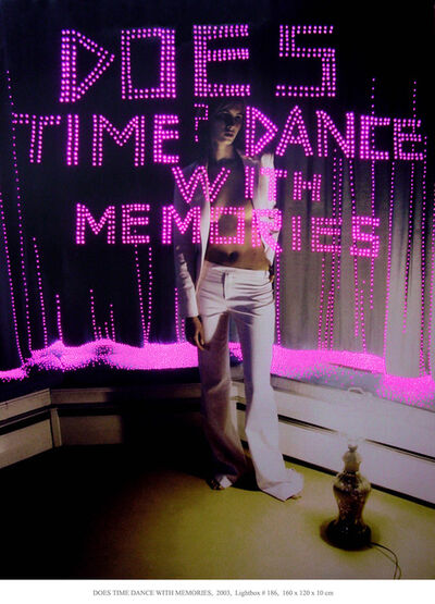 Daniele Buetti, 'Does time dance with memories', 2003