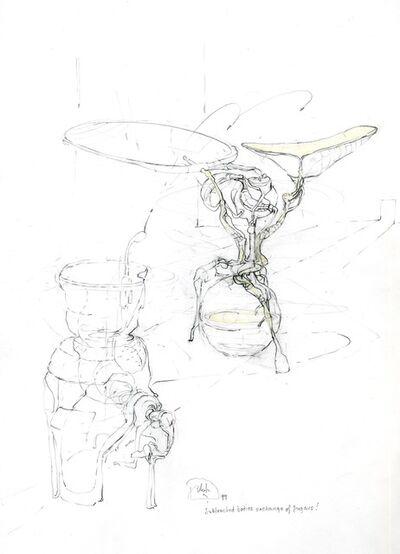 Paul Etienne Lincoln, 'subtracted bodies exchange of sugars !', 1999