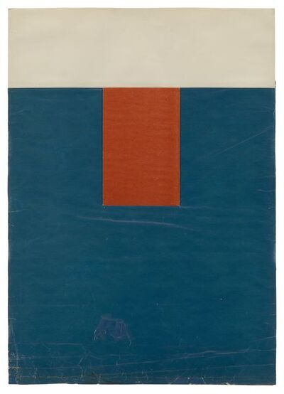 Ellsworth Kelly, 'Red, White and Blue', 1952