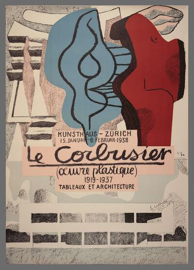 Le Corbusier, 'Œuvre Plastique – Kunsthaus Zürich', 1938