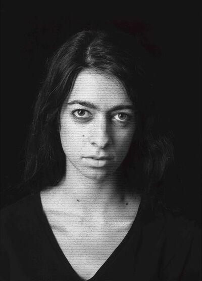 Shirin Neshat, 'Sara Nafici (Masses), from The Book of Kings series', 2012