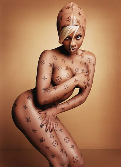 David LaChapelle, 'Lil' Kim: Luxury Item', 1997