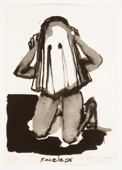 Marlene Dumas, 'Faceless', 1993