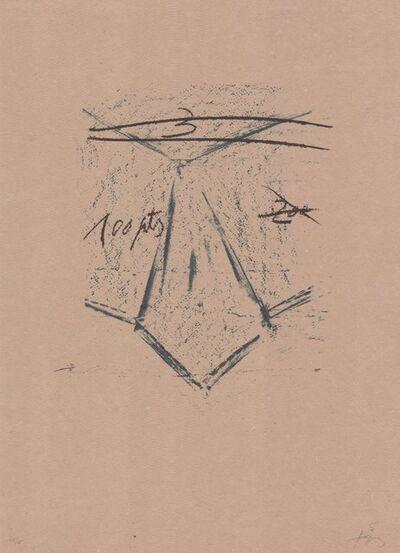Antoni Tàpies, 'Llambrec material XII', 1970-1980