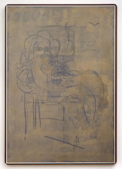 Lukas Geronimas, 'Custom Dust Drawing (Reclining Nude)', 2015