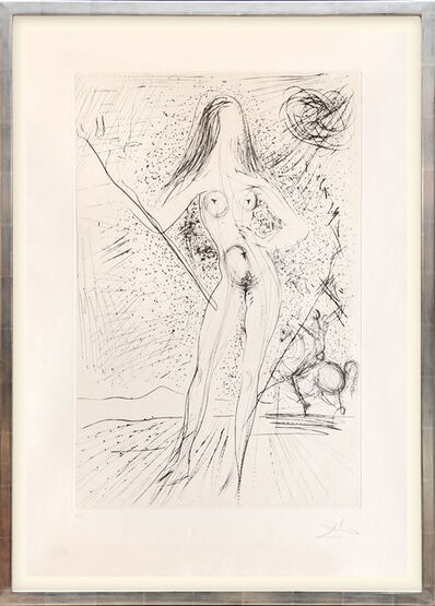 Salvador Dalí, 'Venus de las constellaciones con picador. (Venus of the Constellations with Bullfighter.)', 1975