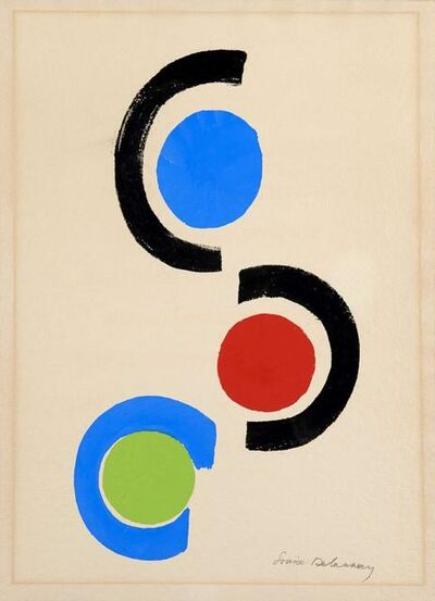 Sonia Delaunay, ' Rythmes Couleurs', ca. 1970