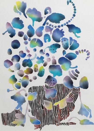 Carlson Hatton, 'Floral Blue', 2016