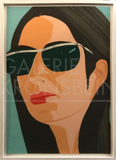 Alex Katz, 'Ada with Sunglasses (Ada and Alex Portfolio)', 1990