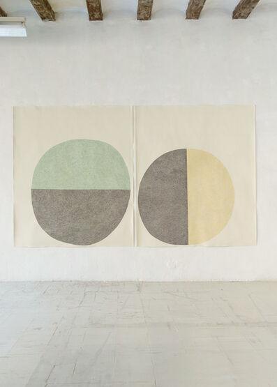 Sabine Finkenauer, 'Untitled (diptych)', 2018