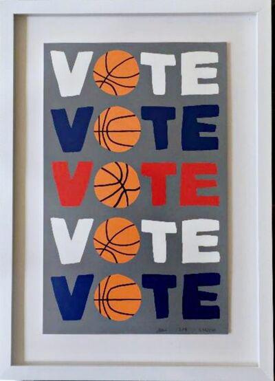 Jonas Wood, 'VOTE', 2018