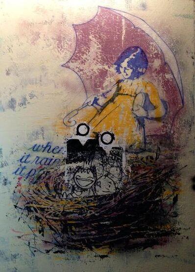"""Ales """"BASK"""" Hostomsky, 'A Protected Nest', 2013"""