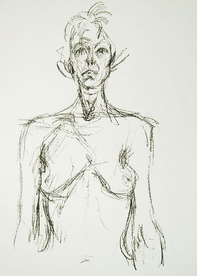 Alberto Giacometti, 'Bust of A Nude', 1961