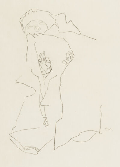 Egon Schiele, 'Baby', 1910
