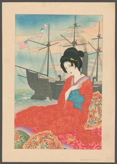 Tachibana Sayume, 'A Joyful Foreigner', ca. 1930