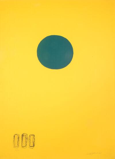 Adolph Gottlieb, 'Chrome Yellow Green Disc', 1966