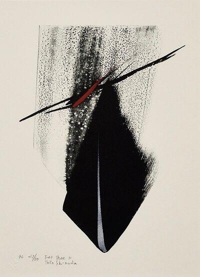 Tōkō Shinoda, 'For Thee D', 1996